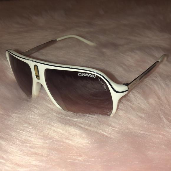 9d84f541edb1 Carrera Accessories | White Sunglasses | Poshmark